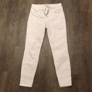 """Madewell 9"""" high riser skinny skinny jean"""